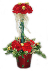 Chris Cringle's Christmas Topiary from Hafner Florist in Sylvania, OH
