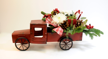 En route to Christmas from Hafner Florist in Sylvania, OH
