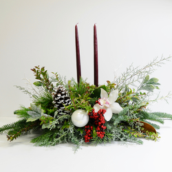 Very Merry Centerpiece from Hafner Florist in Sylvania, OH