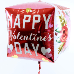 Valentine Square Balloon from Hafner Florist in Sylvania, OH
