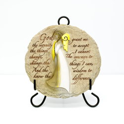 Serenity Plaque from Hafner Florist in Sylvania, OH