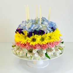 No Bake Floral Cake from Hafner Florist in Sylvania, OH