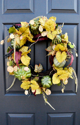 Fall Fields Wreath from Hafner Florist in Sylvania, OH