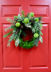 Holiday Wreath from Hafner Florist in Sylvania, OH
