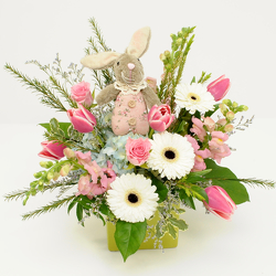 Lovely Bunny from Hafner Florist in Sylvania, OH