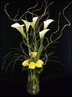 Calla Lilies and Roses from Hafner Florist in Sylvania, OH