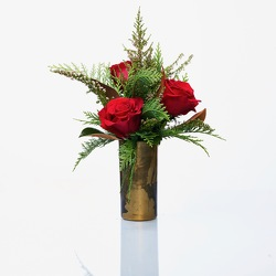 Holiday Roses from Hafner Florist in Sylvania, OH