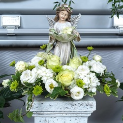 Peaceful Garden Angel from Hafner Florist in Sylvania, OH