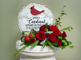 Love's Remembrance Cardinal from Hafner Florist in Sylvania, OH
