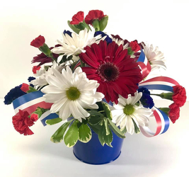Red, White and Blue from Hafner Florist in Sylvania, OH